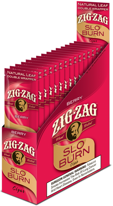 Zig Zag Wraps Slow Burn Berry 15/2