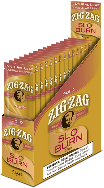 Zig Zag Wraps Slo Burn Gold 15Ct