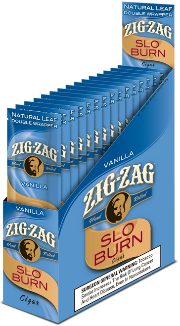Zig Zag Wraps Slow Burn Vanilla 15/2