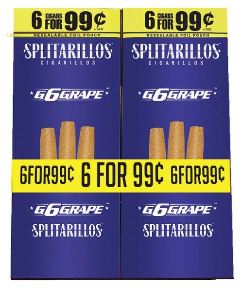 Splitarillos Grape Cigarillos 15/6 Ct
