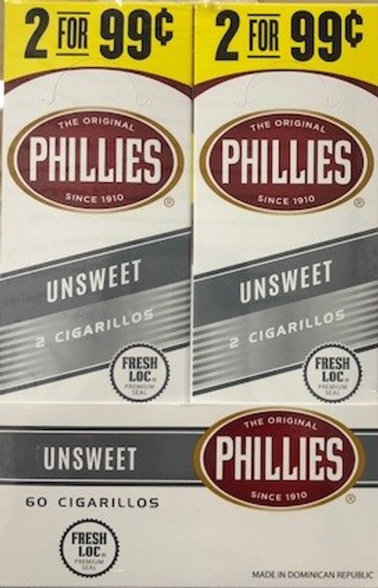 Phillies Cigarillos Unsweet Foil Fresh 2 For 99