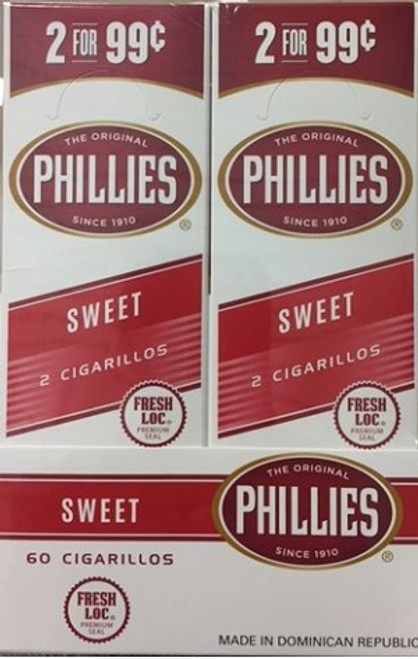 Phillies Cigarillos Sweet Foil Fresh 2 For 99c