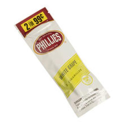 Phillies Cigarillos White Grape Foil Fresh 30/2