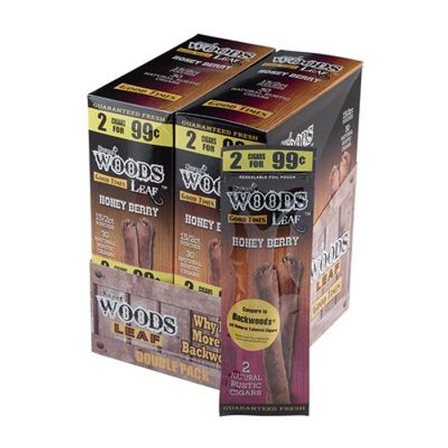 Good Times Sweet Woods Honey Berry 30 Pouches OF 2