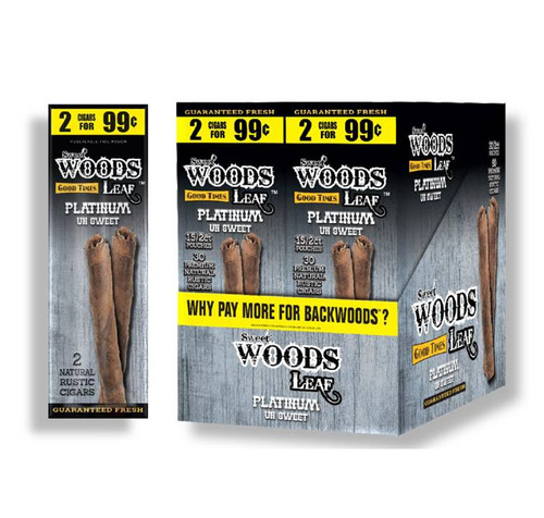 Good Times Sweet Woods Platinum 30 Pouches Of 2