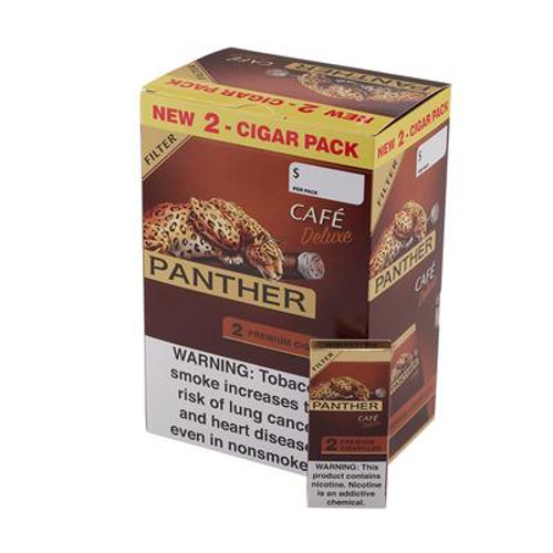Panther Filter Cigarillos Cafe Deluxe 30/2