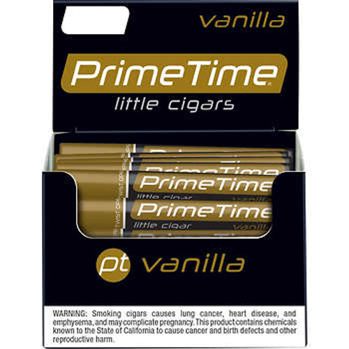 Prime Time Little Cigars Vanilla 50Ct