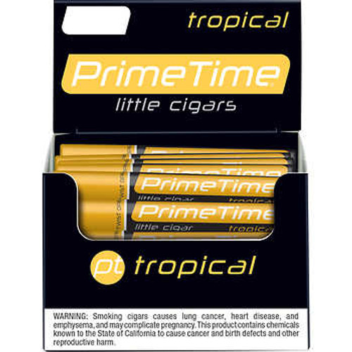 Prime Time Little Cigars Tropical 50Ct