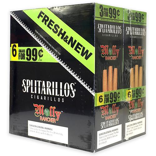 Splitarillos Cigarillos Molly 30 Pouches of 3