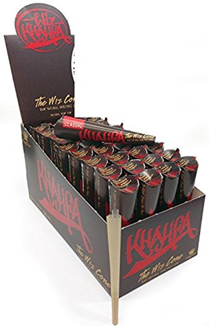 Wiz Khalifa Classic Cone Rolling Papers King Size 33/3Ct