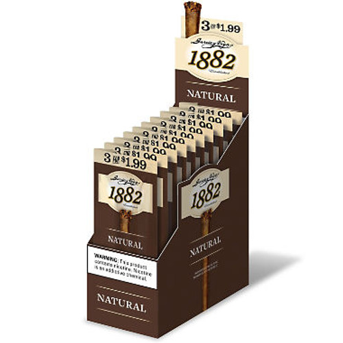 Garcia Y Vega 1882 Natural Cigars 3 for 1.99