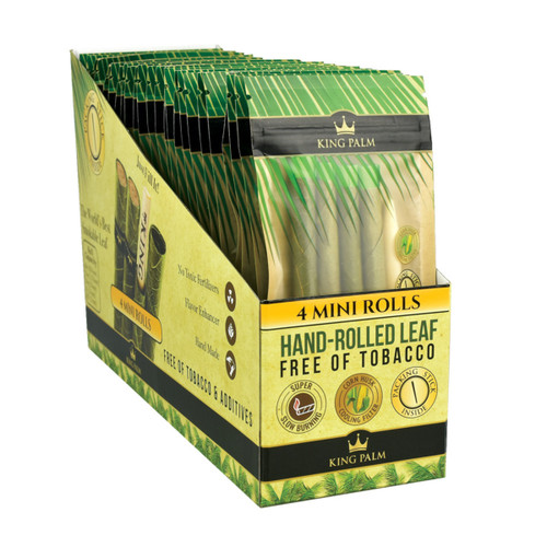 King Palm Hand Rolled Leaf Wraps - Mini 4PK