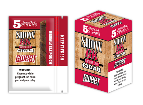 Show BK Cigars Sweet 8 Packs of 5