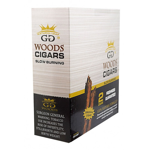 GG Woods Cigars Natural 15 Pouches of 2