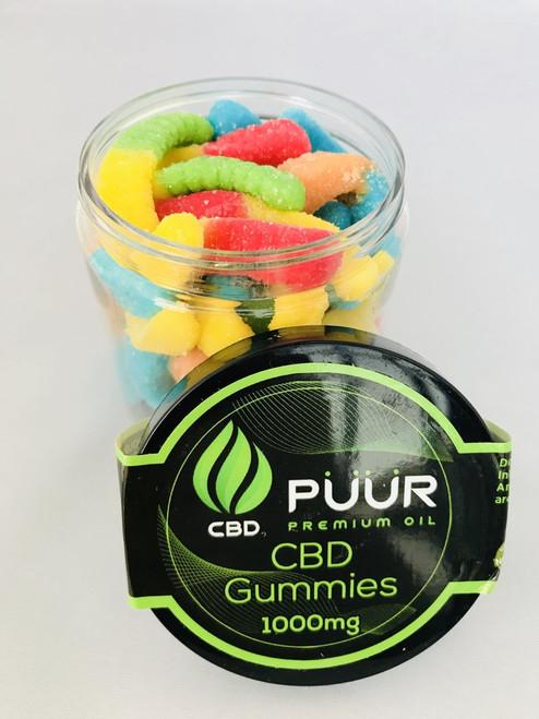 PUUR CBD Gummies 1000MG