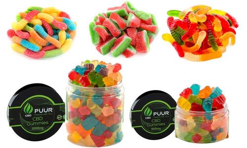 PUUR CBD Gummies 500MG