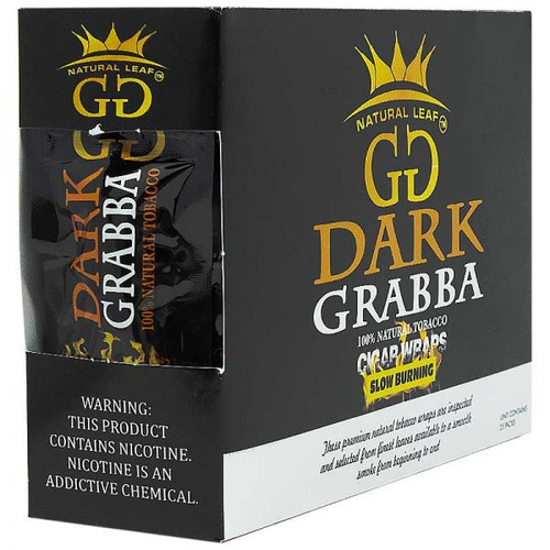 GG Dark Grabba Cigar Leaf 25Ct
