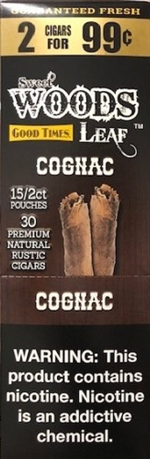 Good Times Sweet Woods Cognac 15 Pouches OF 2