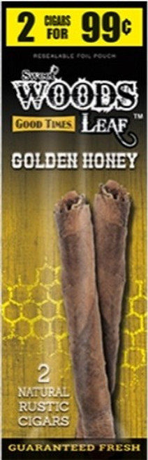 Good Times Sweet Woods Golden Honey 15 Pouches of 2
