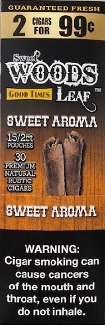 Good Times Sweet Woods Sweet Aroma 15 Pouches of 2
