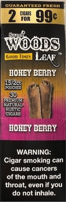 Good Times Sweet Woods Honey Berry 15 Pouches of 2