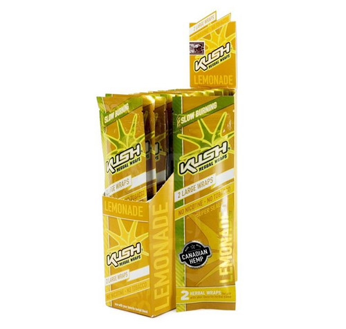 Kush Hebal Hemp Wrap Lemonade 25/2