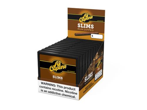Al Capone Slims Rum Cigarillos