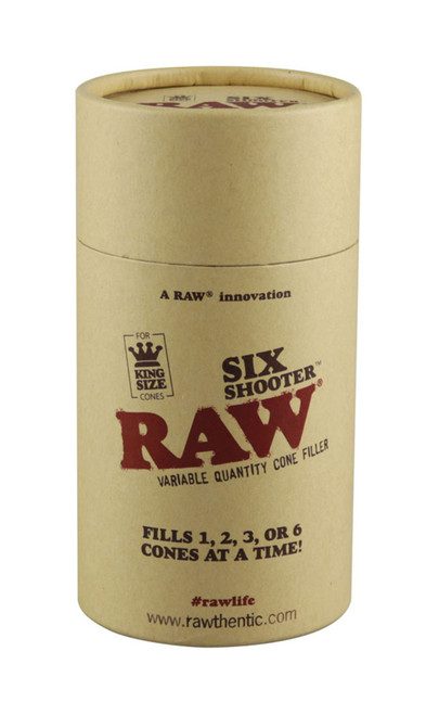 RAW Six Shooter Kingsize Cone Filler