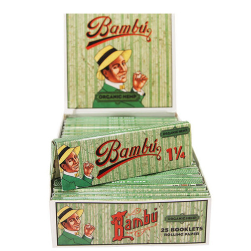 Big Bambu Organic Hemp Cigarette Papers 1 1/4 24 Ct