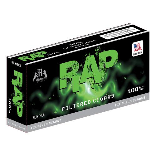 Rap Filtered Cigars Menthol