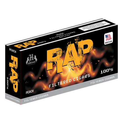 Rap Filtered Cigars Peach
