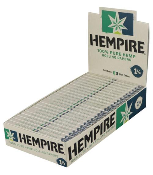 Hempire Hemp Rolling Papers 1 1/4 24Ct