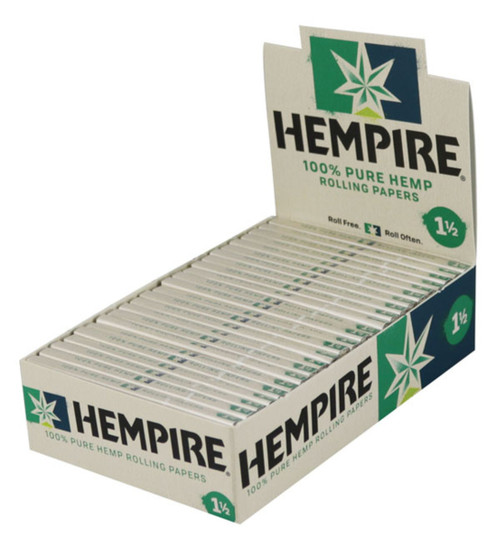 Hempire Hemp Rolling Papers 1 1/2 24Ct