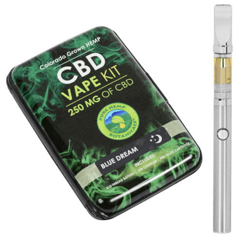 Pure Hemp Botanicals CBD Blue Dream Vape Kit 250mg