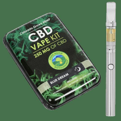 Pure Hemp Botanicals CBD Blue Dream Vape Kit 250mg