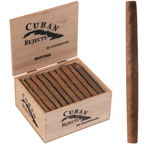 Cuban Rejects Classic Cigarillos Natural 50 Ct. Box
