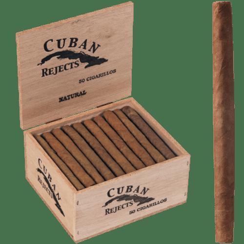 Cuban Rejects Classic Cigarillos Natural 50 Ct. Box