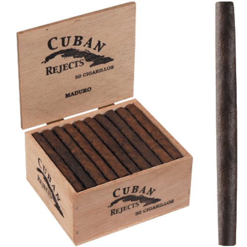 Cuban Rejects Classic Cigarillos Maduro 50 Ct. Box