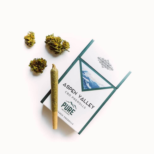 Aspen Valley Pre-Rolled Hemp CBD Flower Sing Pack