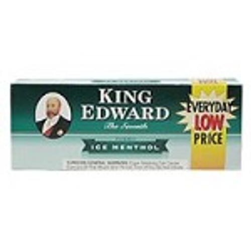 King Edward Filtered Cigars Menthol