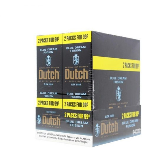 Dutch Masters Cigarillos Foil Blue Dream 30 Pouches of 2