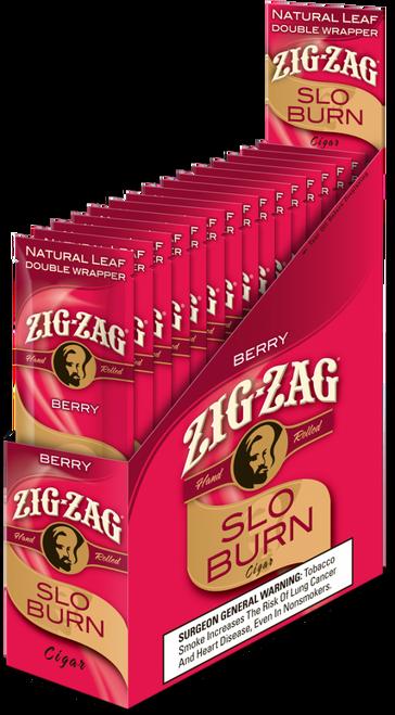 Zig Zag Wraps Slow Burn Berry 15/2