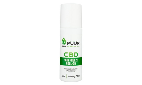 Puur CBD Pain Freeze Roll On 350MG