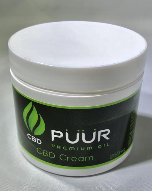 Puur CBD Pain Relief Cream 250MG