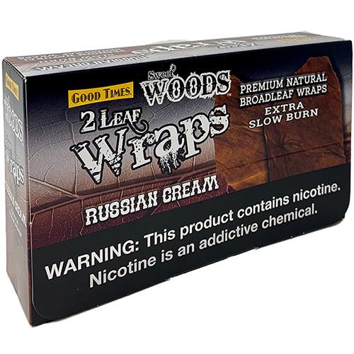 Sweet Woods Russian Cream Wraps