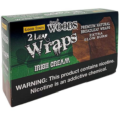 Sweet Woods Irish Cream Wraps