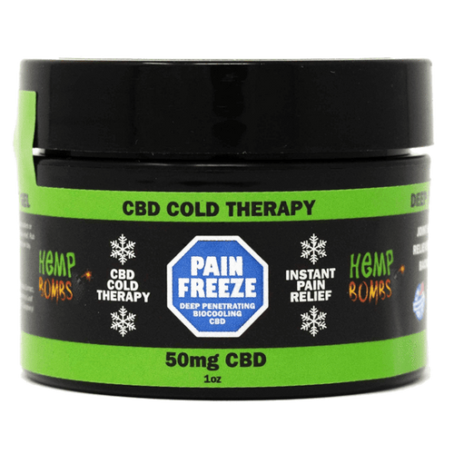 Hemp Bombs Pain FREEZE CBD Balm Rub 50mg 1 oz