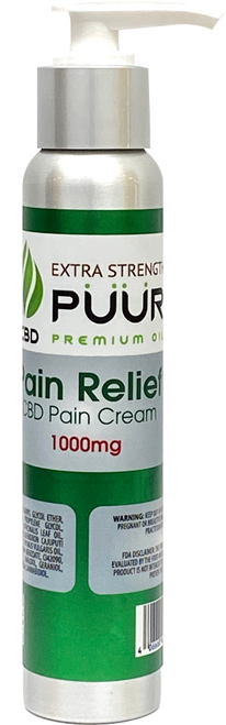 Puur Extra Strength CBD Pain Relief Cream 1000MG