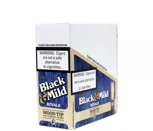 Black & Mild Royale Wood Tip Pack