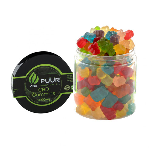 PUUR CBD Gummies 2000MG